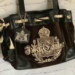Juicy Couture Bags - Juicy Couture Velour Bag
